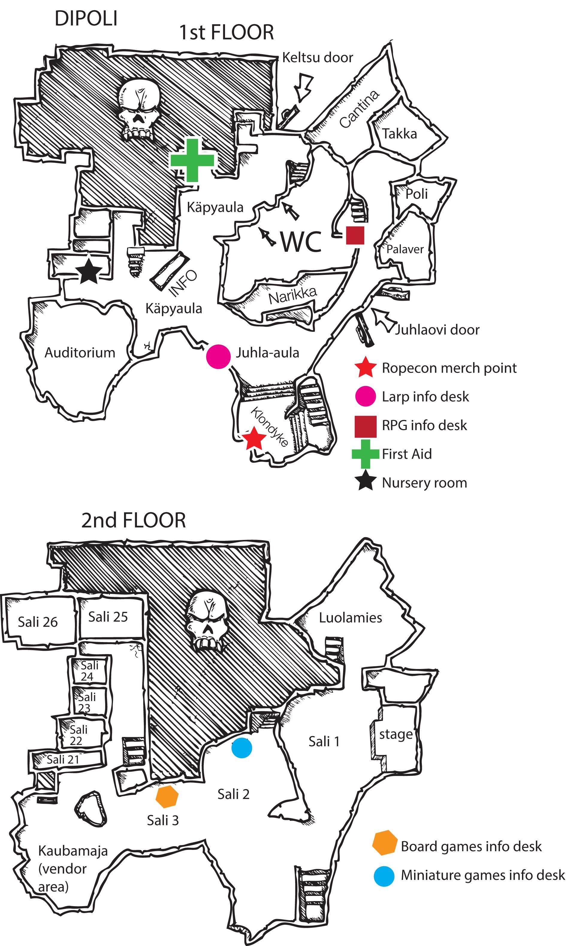 Maps Ropecon